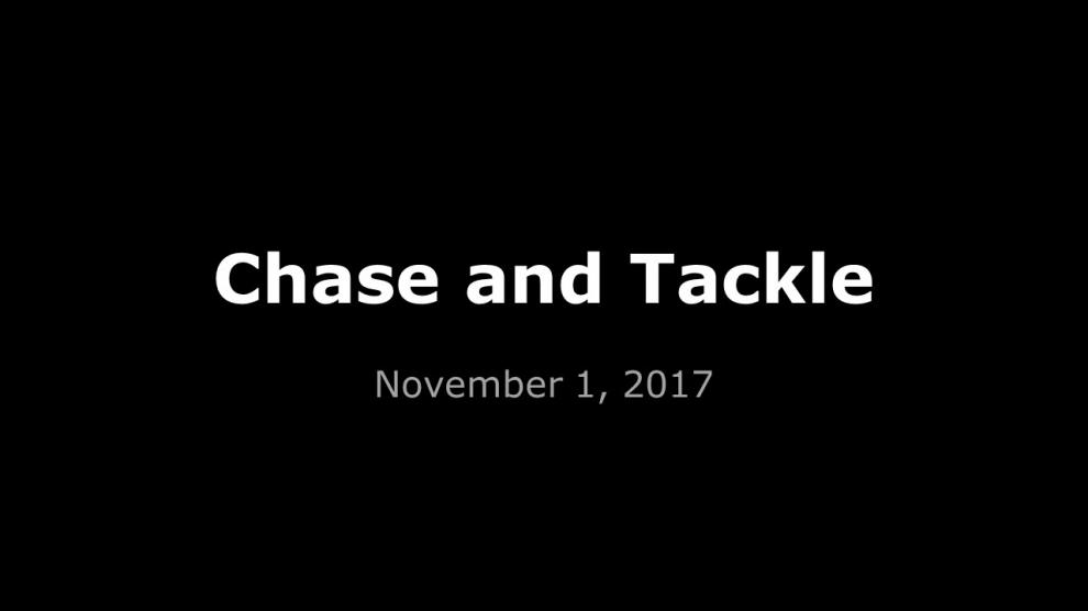 Chase and Tackle Auto Dealer Apprehension